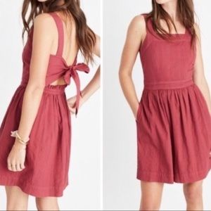 Madewell New with tags Apron Dress size 10